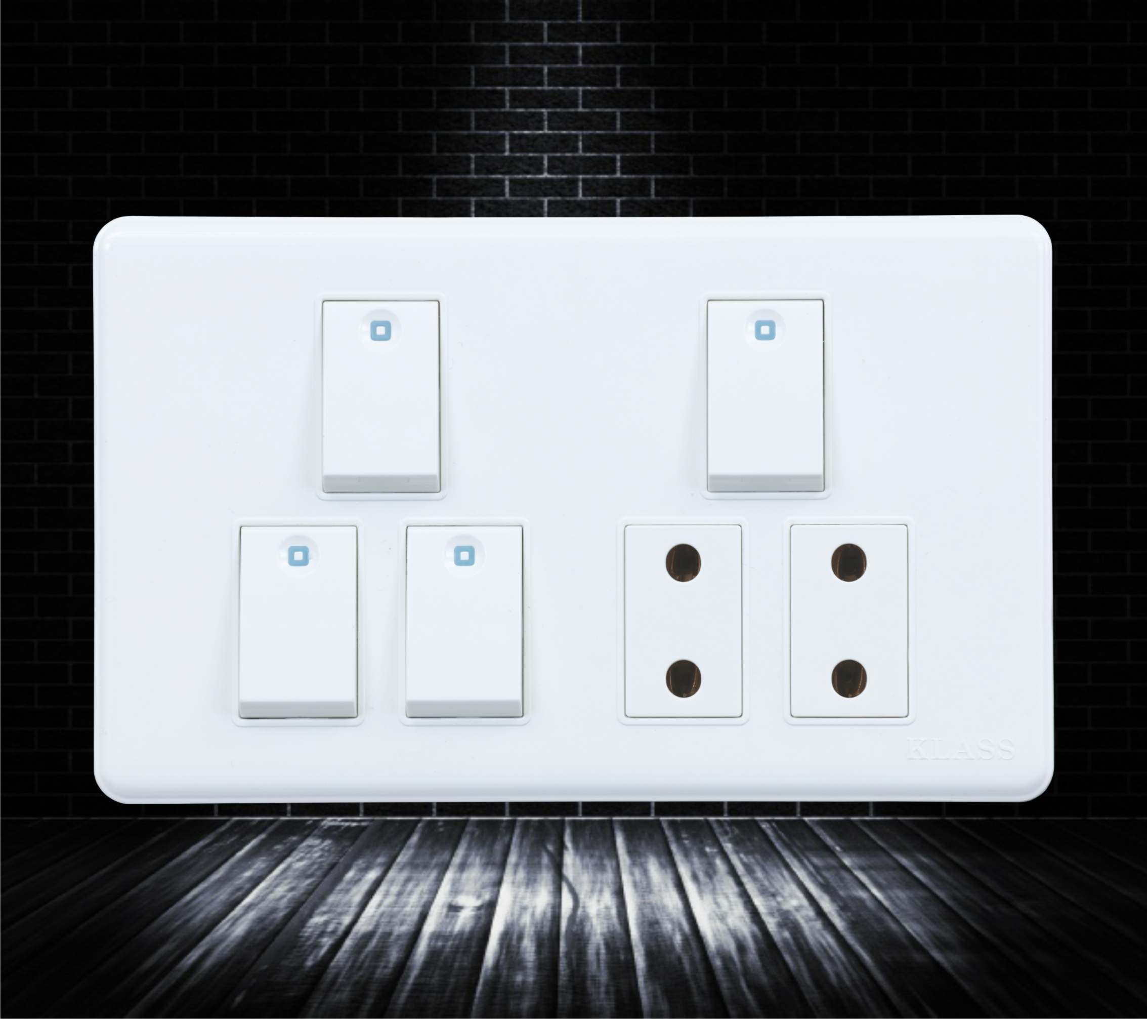 Four Switch Two Socket